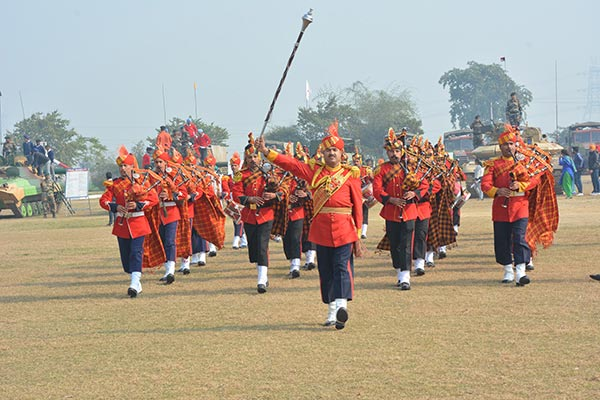 Indian Army Battle Display