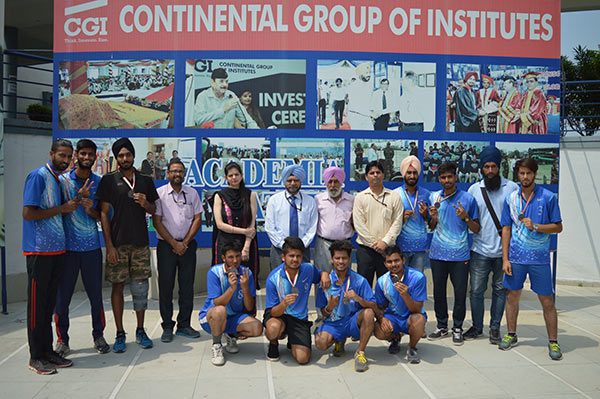CGI won Bronze medal in Inter-College Championship